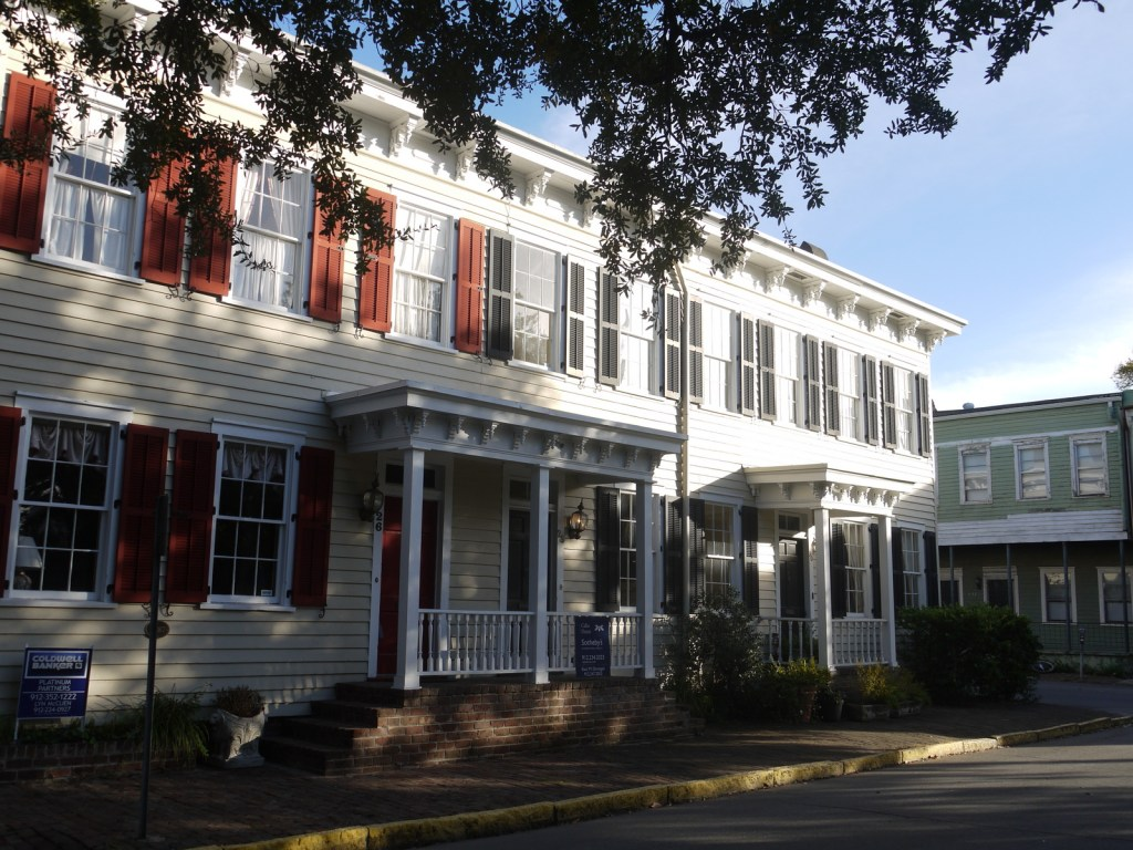 Rowhouses, Savannah, Georgia
