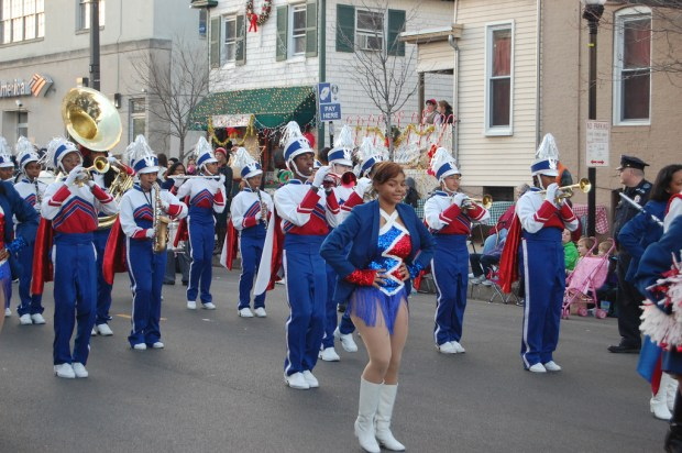 Poly and Western Marching Bands, 4 December 2011. Photo courtesy Spinstah/Flickr (CC BY-NC-SA 2.0).