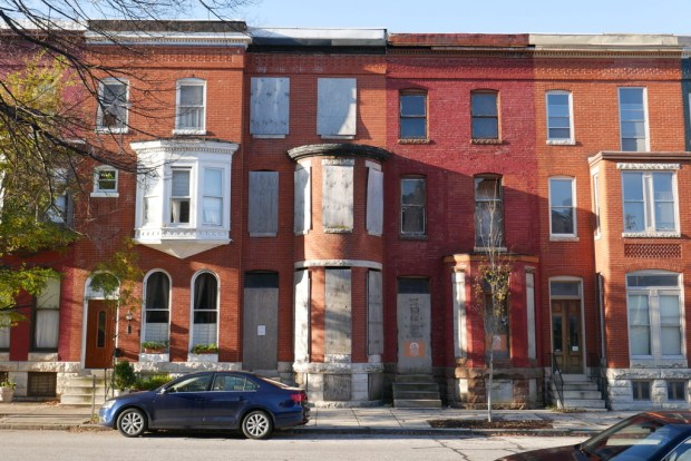 Juanita Jackson and Clarence Mitchell, Jr. Residence, 1324 Druid Hill Avenue