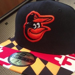 Orioles Maryland Flag Hat