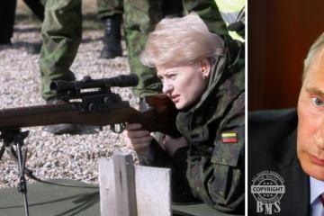 Putin und Grybauskaite