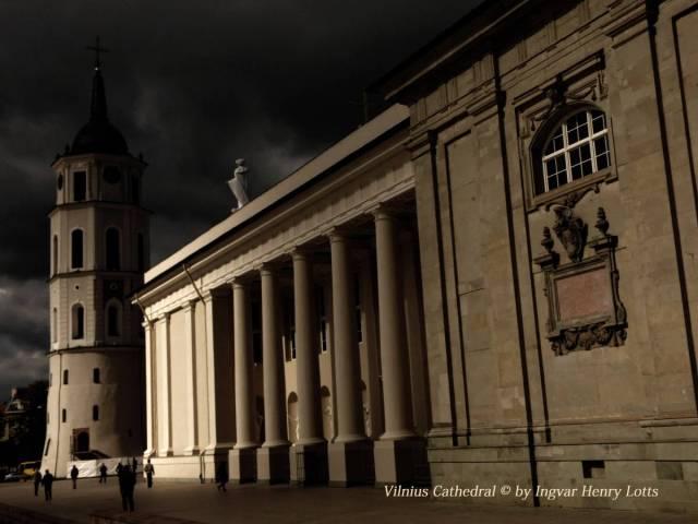 Kathedrale von Vilnius, Litauen. Foto © 2015 Ingwar Heinrich Lotz