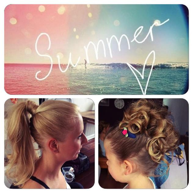 summer hairstyle sunnydays curly updo vibe bamhairstyle greatwork lovely