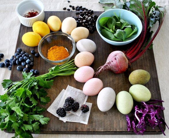 Dye Your Eggs Naturally This Easter
