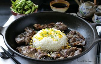 Pepper Lunch Beef Rice Sizzle / http://bamskitchen.com