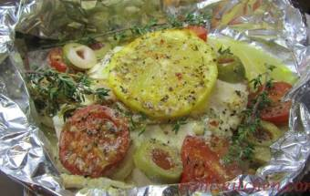 Mediterranean Red Snapper Packets