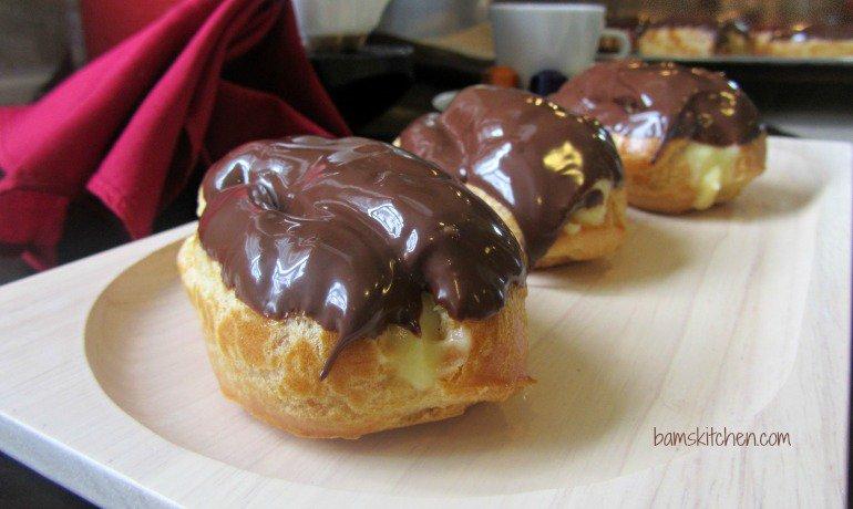 Chocolate French Eclairs with Cinnamon Cream_IMG_8847