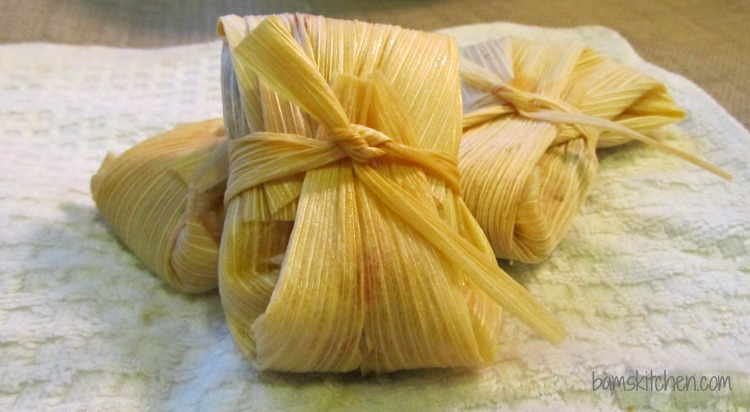 Bam's Kitchen - Tex Mex Ahi and Cheesy Rice Tamales