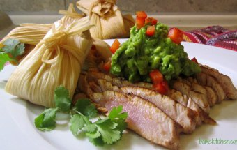 TEX MEX AHI with Cheesy Rice Tamale_IMG_8462