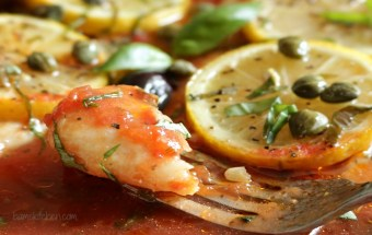 Healthy Mediterranean Baked Fish - Bam's Kitchen