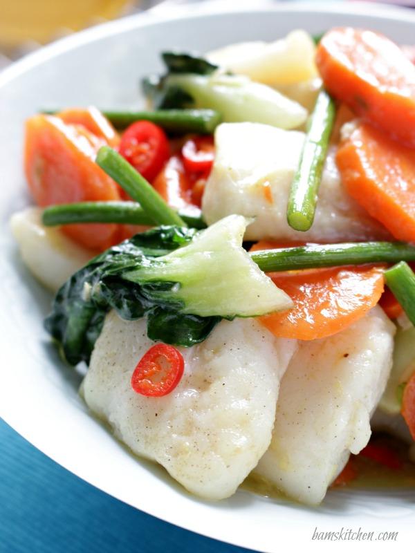 Bam 39 s kitchen ginger chili fish stir fry bam 39 s kitchen for Fish sauce stir fry