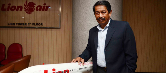 Edward Sirait, Presiden dan CEO Lion Air Group - www.viva.co.id
