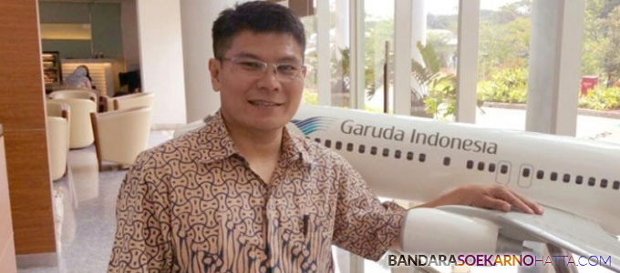 VP Corporate Communication Garuda Indonesia Benny S Butarbutar - www.jitunews.com
