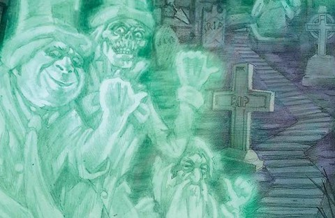The Haunted Mansion 5: previews de Jorge Coelho