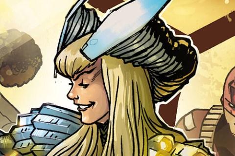 Teen Titans 23: arte original de Miguel Mendonça