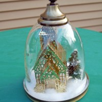 From Ugly Lamp to Pretty Cloche