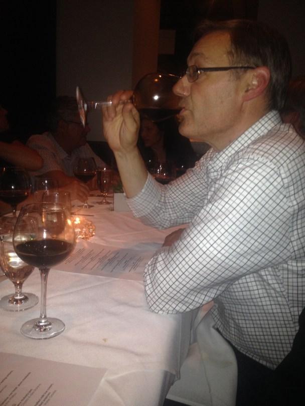 Ed Richert tasting Chicanery
