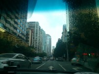 View from the car in Shenzhen