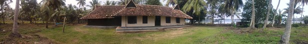 Rama's house from south