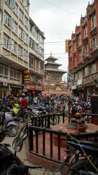 Ein erster Blick auf Durbar Square