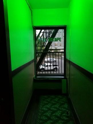 the creepy hallway