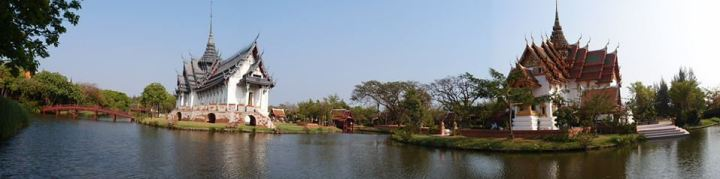 Landmark of the Ancient Siam