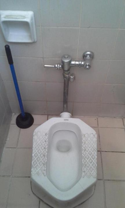 Squat Toilet in Thailand