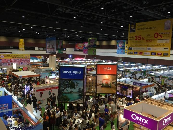 Thai Teaw Thai travel fair