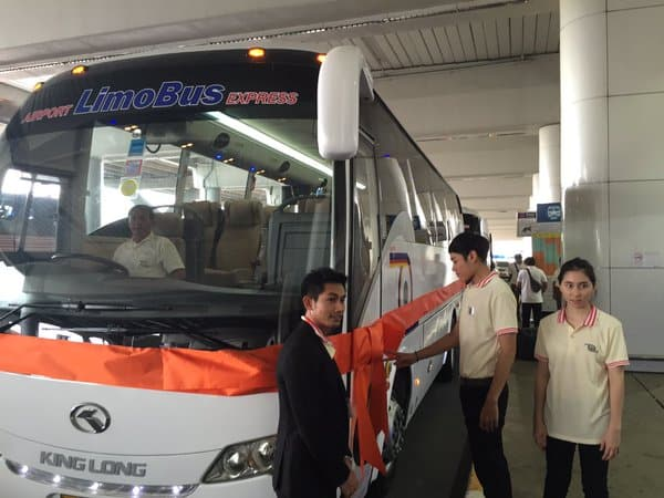 LimoBus at Don Muang Airport