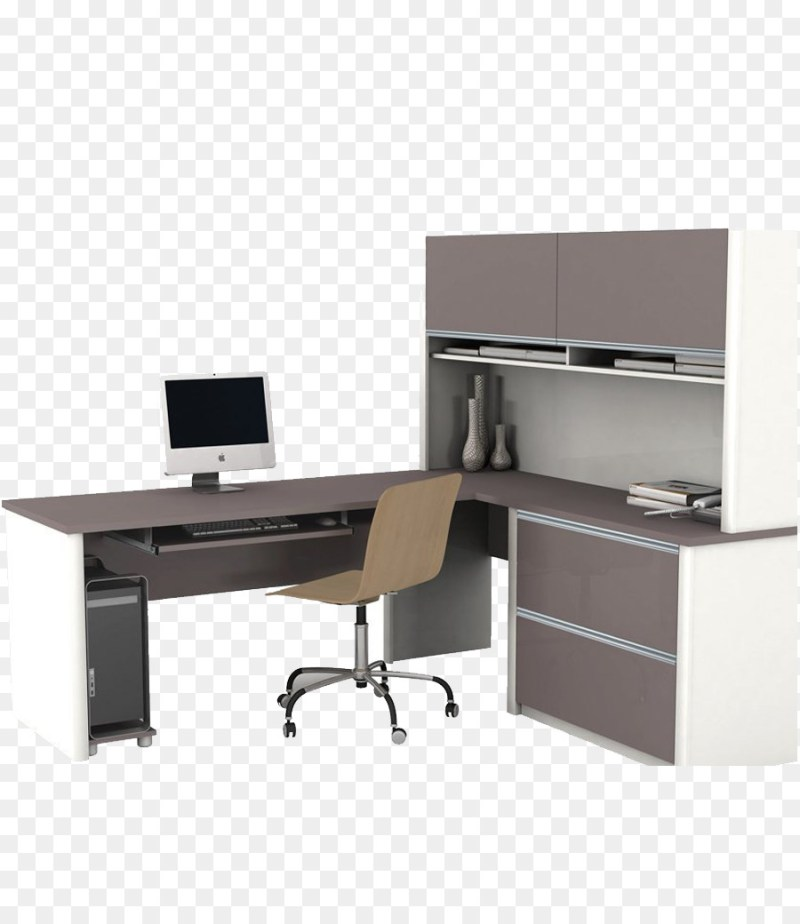 Large Of Office Desk With Hutch