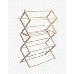 Small Crop Of Wooden Clothes Drying Rack