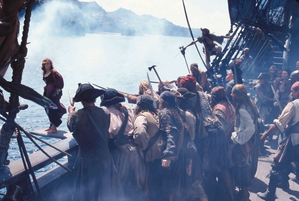 Women in a Sea of Men: The Representation of Women in The Curse of the Black Pearl
