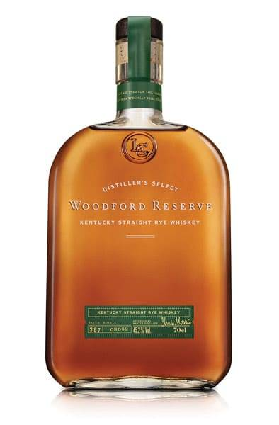 Woodford Reserve Kentucky Straight Rye Flasche