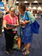 Deb LaPlante and Peggy Sharp compare new books