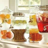 A classy drink dispenser and recipes to go with it... Beat the heat!