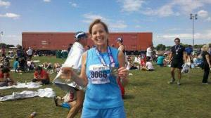 First marathon!  26.2 miles!  Sept 2011