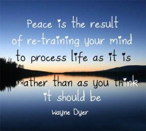 Peace wayne dyer