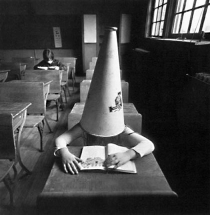 What I felt like after trying. Photo credit: Arthur Tress