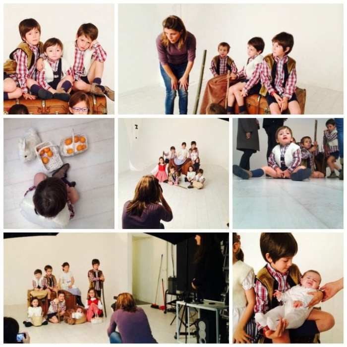 Fotógrafa infantil Navidad