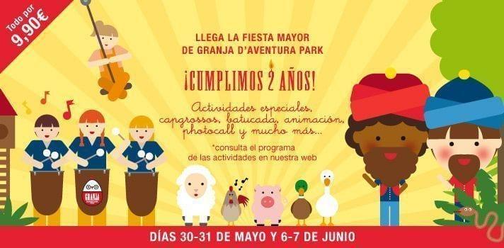 Festa major granja aventura park