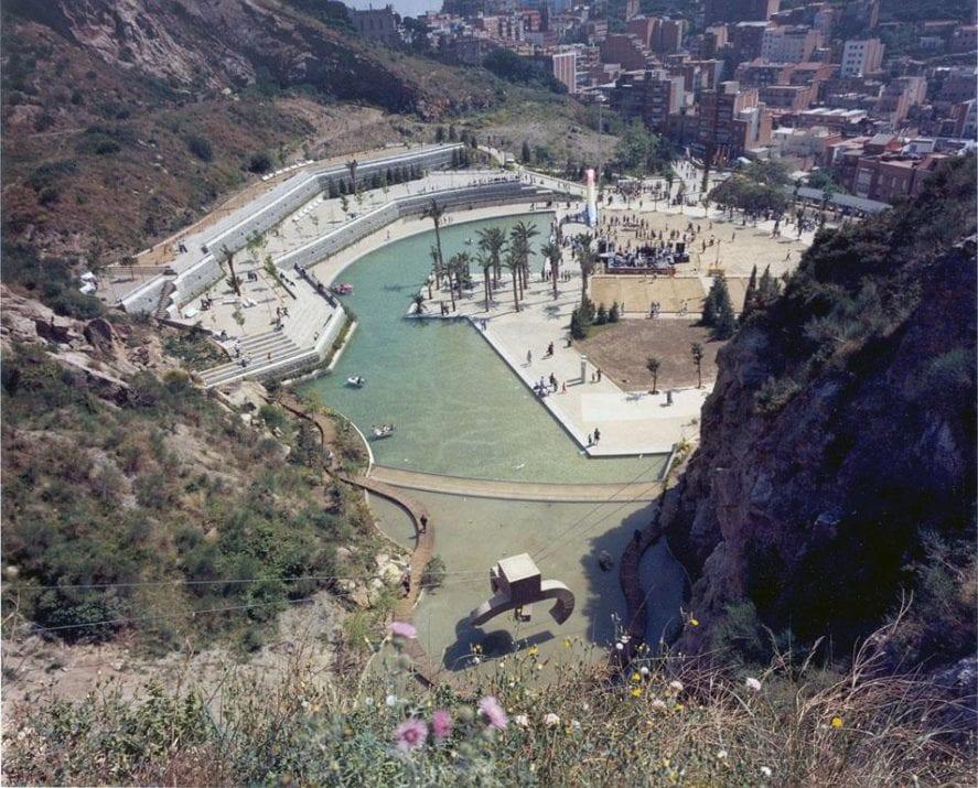 Las mejores piscinas de barcelona barcelona colours for Piscina creueta del coll