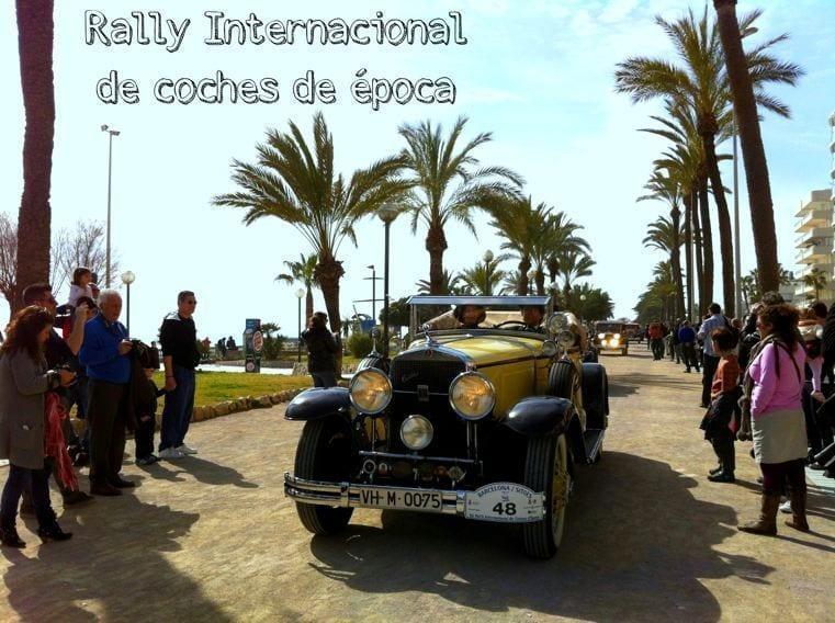 Sitges Rally Interncaiconal coches de época