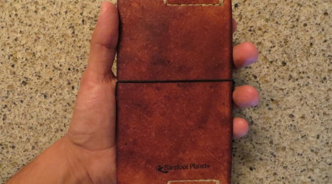 Leather Cover for Field Notes Book