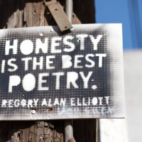 Honesty is the Best Poetry