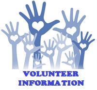 Volunteer information button