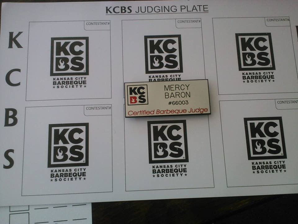 KCBS BBQ Barbeque Barbque