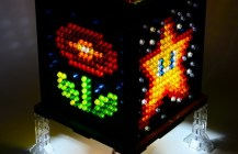 Mosaic Super Mario Lamp 2