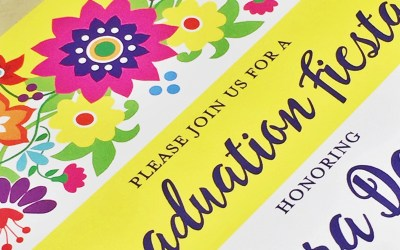 Fiesta Floral Invitation: Behind the Scenes