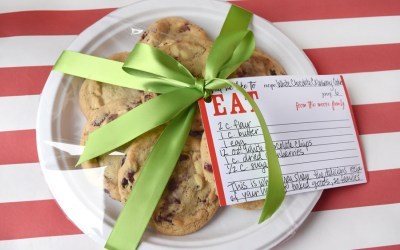 Custom Holiday Recipe Cards