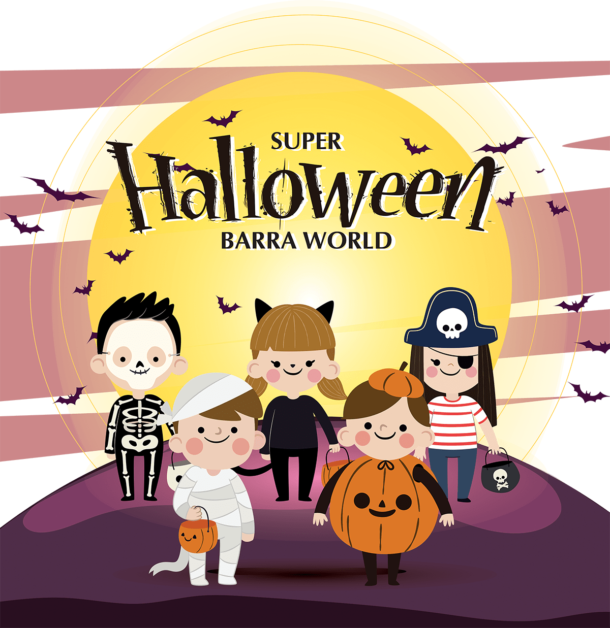 Super Halloween no Barra World | 2018